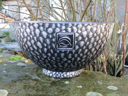 """The 14"""" Cathay Bowl Silver"""